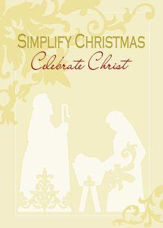 Nativity Christmas Printable