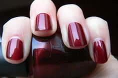 OPI Romeo and Joliet - a very pretty dark red