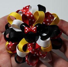 Loopy Flower Hair Bow Tutorial