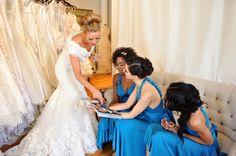 eversnap communiti, bridal shower, bride maid, flower girl, real white