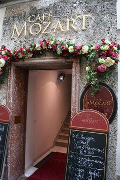Cafe Mozart, Salzburg, Austria.