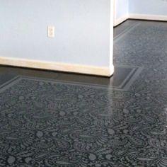 inexpens floor, fun floor, paint floor, idea, paint subfloor, floor floor, floor option, 3rd floor, painted floors