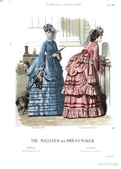 July 1870, The Milliner and Dressmaker