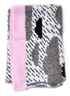 Rainy Day Mini Wool Blanket/ donna wilson