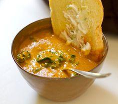 Kale and sweet potato soup :) Vegan