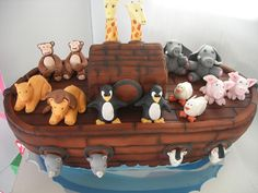 Two by Two - Noah's Ark Cake(129) | Flickr - Photo Sharing!