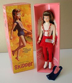 1964 Skipper Doll  in  Skating Outfit