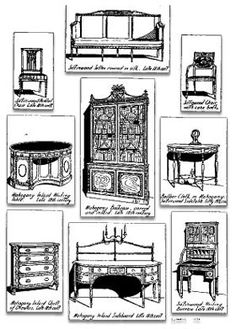 Sheraton style furniture on pinterest china cabinets for What is sheraton style furniture