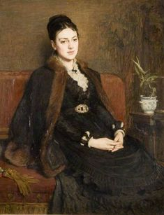The Athenaeum - Lady Orchardson (Sir William Quiller Orchardson - )
