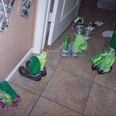 Sneaky Little Leprechaun Tricks