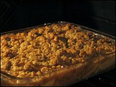 Family Apple Crisp Recipe