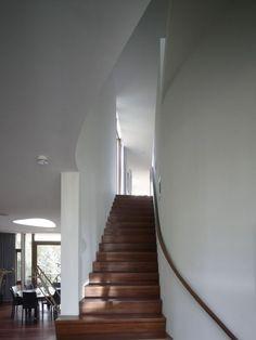 Mecanoo Architects designed the Villa Nefkens in Wageningen, The Netherlands