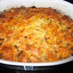 Christmas Breakfast Sausage Casserole Allrecipes.com