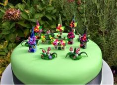 Miniatures by Fizzy: Halloween witch fairy house cake topper set blog giveaway.