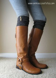I love the boots and leg warmers. They are so cute!