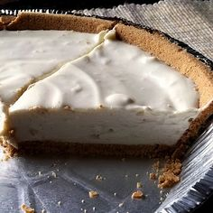 Cheese Cream Pie: (adapted from a vintage Eagle Brand Milk booklet from 1968)