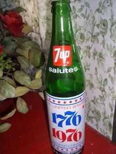 Bicentennial 7-Up bottle (1976)
