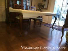 "Bruce Frontier Hickory color Golden Brown 3/8"" x 5"" prefinished handscraped and distressed wood floor."