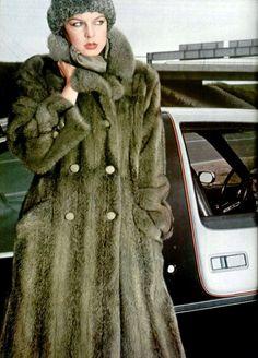 Miss Chombert fur coat 1970s