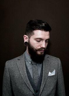 2014 Men's Beard and Mustache trend    men beard styles