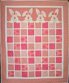 Bunny Hugs - Saw this at the Spokane Quilt Show from Quilts in MT - love it!