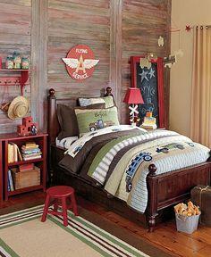 idea for the boys room...