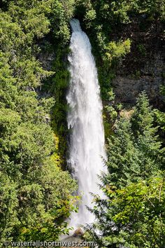 Mill Creek Falls In Southern Oregon