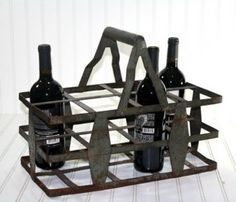 French Bottle Carrier
