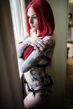 Tattooed Model Cervena Fox | Inked Magazine