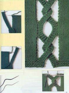 Tejido Facil: Ideita original para tejido a dos agujas (1)