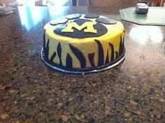 Mizzou cake!