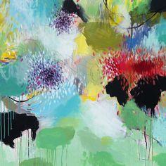 "Saatchi Online Artist: Cristina B; Acrylic, 2012, Painting ""Spring juice"""