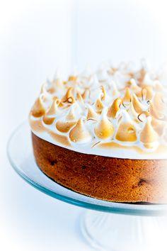 Lemon Cake with Toasted Meringue