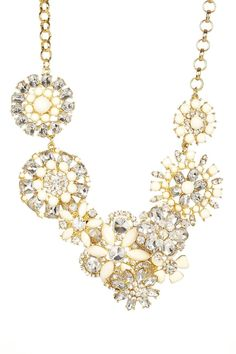 Luxe Blooming Crystal Necklace