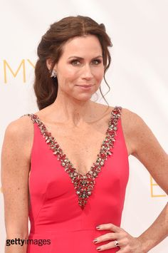 Actress Minnie Driver attends the 66th Annual Primetime Emmy Awards held at Nokia Theatre L.A. Live on August 25, 2014 in Los Angeles, California.  (Photo by Jason Merritt/Getty Images)