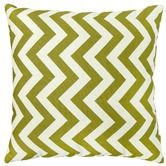 Greendale Home Fashions Toss Zig Zag Pillows in Village Green