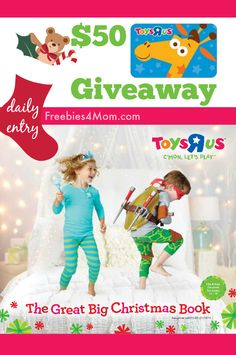 "I'm giving away a $50 Toys""R""Us Gift Card  ENTER http://freebies4mom.com/wintoys #ad #LetsPlay (ends Nov. 11)"