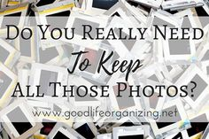 Photo Organizing: Do