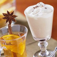 This post-dinner Dublin Eggnog is flavored with coffee and a hint of whiskey. See more St. Patrick's Day recipes: http://www.bhg.com/holidays/st-patricks-day/recipes/delicious-st-patricks-day-desserts/?socsrc=bhgpin031413dublineggnog=16