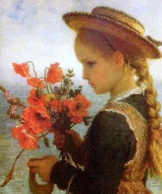 Poppy Girl - Karl Wilhelm Friedrich Bauerle