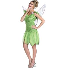 Tinker Bell, with these three you could also add lost boys for costumes!