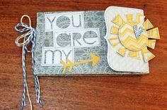 You are my Sunshine Mini album - Scrapbook.com