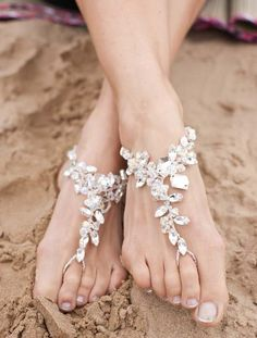Of course, I love the big bling sandals!