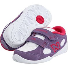 shoes for addie  (purple/white new balance kids)