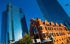Downtown Ft Worth- one of my favorite places.