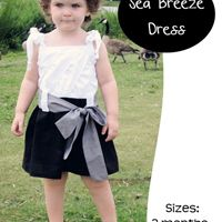 Sea Breeze Dress 3m-6yr E-Pattern