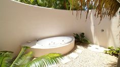 Outdoor jacuzzi - privacy...