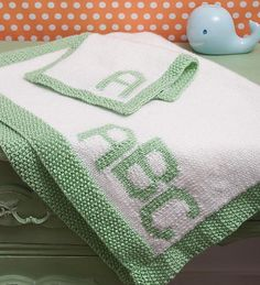 Ravelry: My First Baby Blanket w/Burp Cloth pattern by Bobbi Anderson