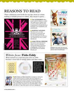 Fishs Eddy is featured in the UK's Mollie Makes magazine!     http://molliemakes.themakingspot.com/