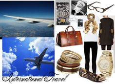 What to Wear for International Travel--be comfortable and fashionable on your long-haul flight!